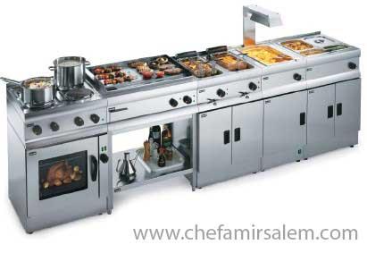 همه چیز در مورد آشپزخانه صنعتی