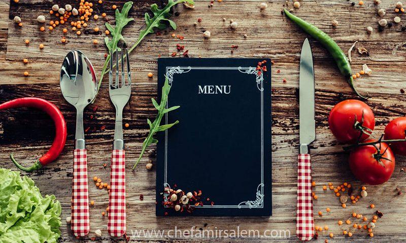 راهنمای طراحی منوی رستوران و کافی شاپ و فست فود
